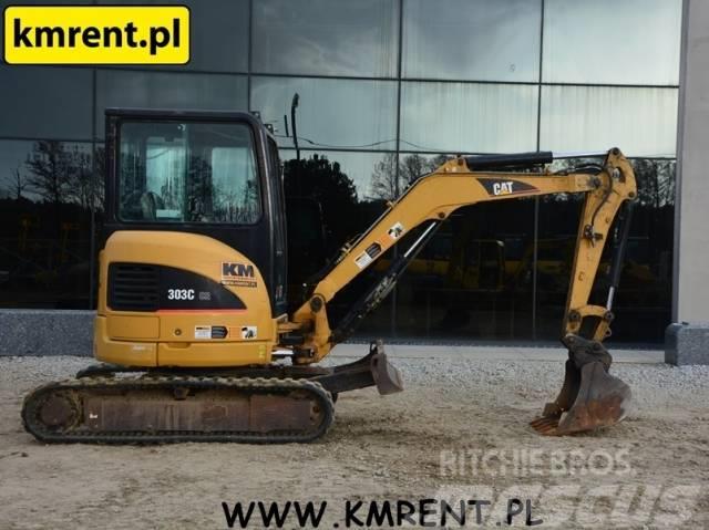 Caterpillar 303C|302.5C JCB 8008 8015 8025 8030 TAKEUCHI TB125