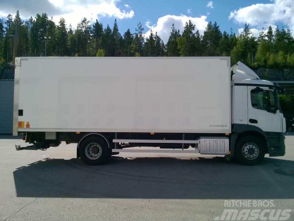 Used mercedes benz mb antos 1830l umpikori box trucks year for Mercedes benz box truck for sale