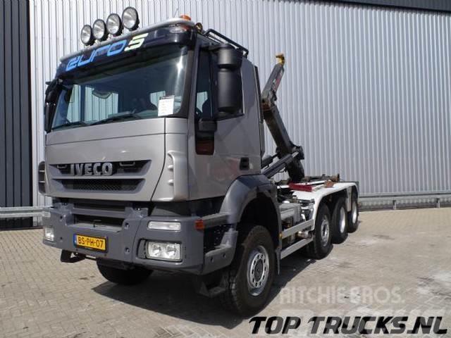 Iveco Trakker 360 8x6 - 30T. Haakarmsysteem, Hooklift, A