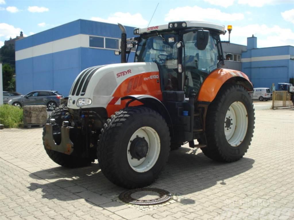 Steyr Traktor Schlepper Steyr 6130 CVT Komfort Kommunal