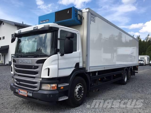 Scania P 360 6X2, FRC-kori + PL