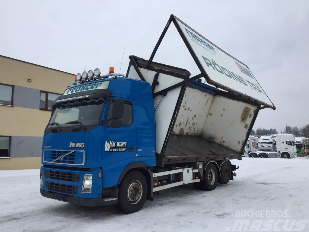 Volvo FH480 6x2 EURO5+TIPPER 38m3