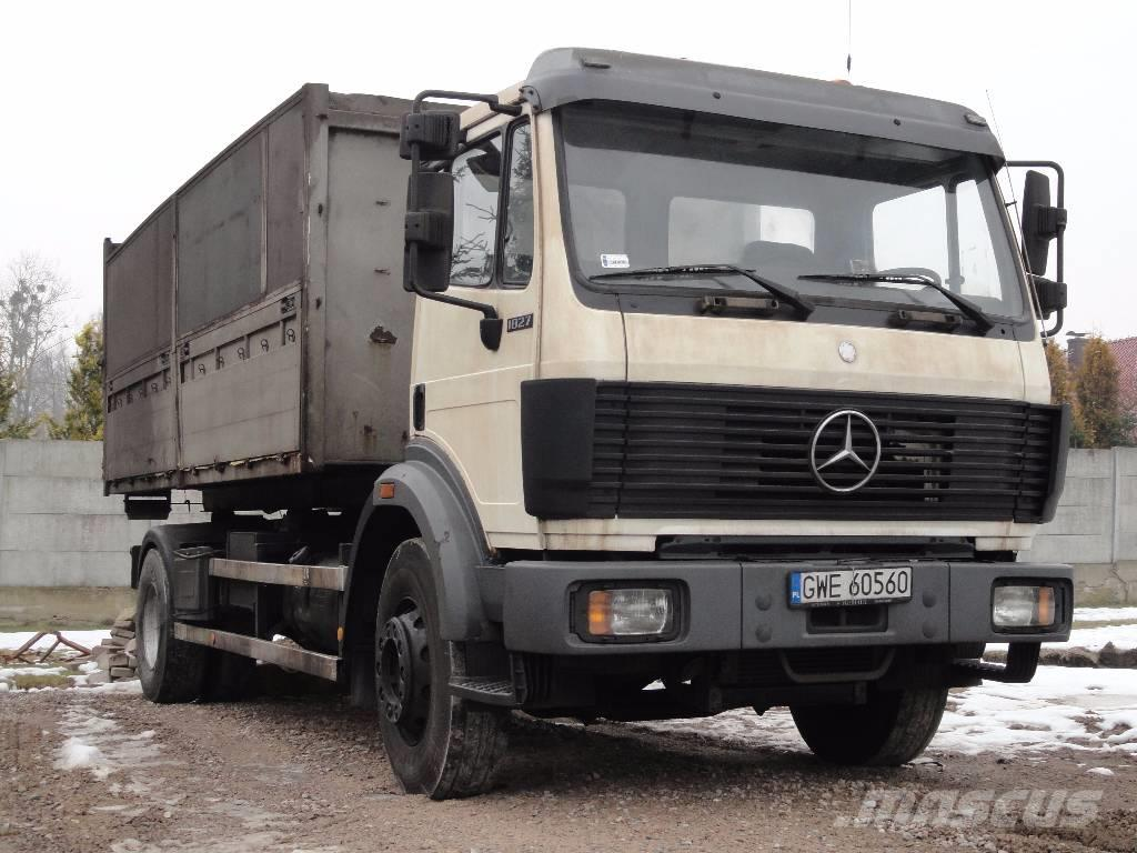 mercedes benz sk 1827 4x2 hook tipper special year 1992 39 1992 r polen cena 37 000 z. Black Bedroom Furniture Sets. Home Design Ideas