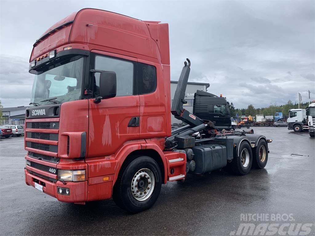 Scania R144 6x4 460 hv