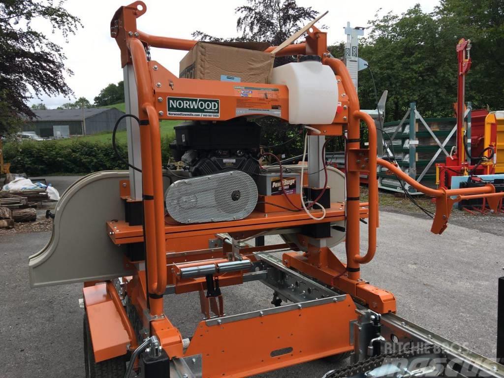 Norwood HD36 mobile band sawmill c/w hydraulic accessories