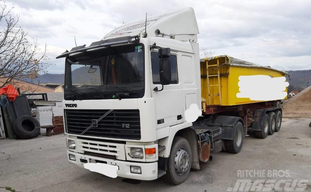 Volvo F12 400 4X2 tractor unit - spring