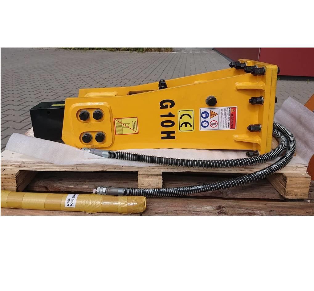 DB Tech Młot hydrauliczny wyburzeniowy DB G10H 106 kg