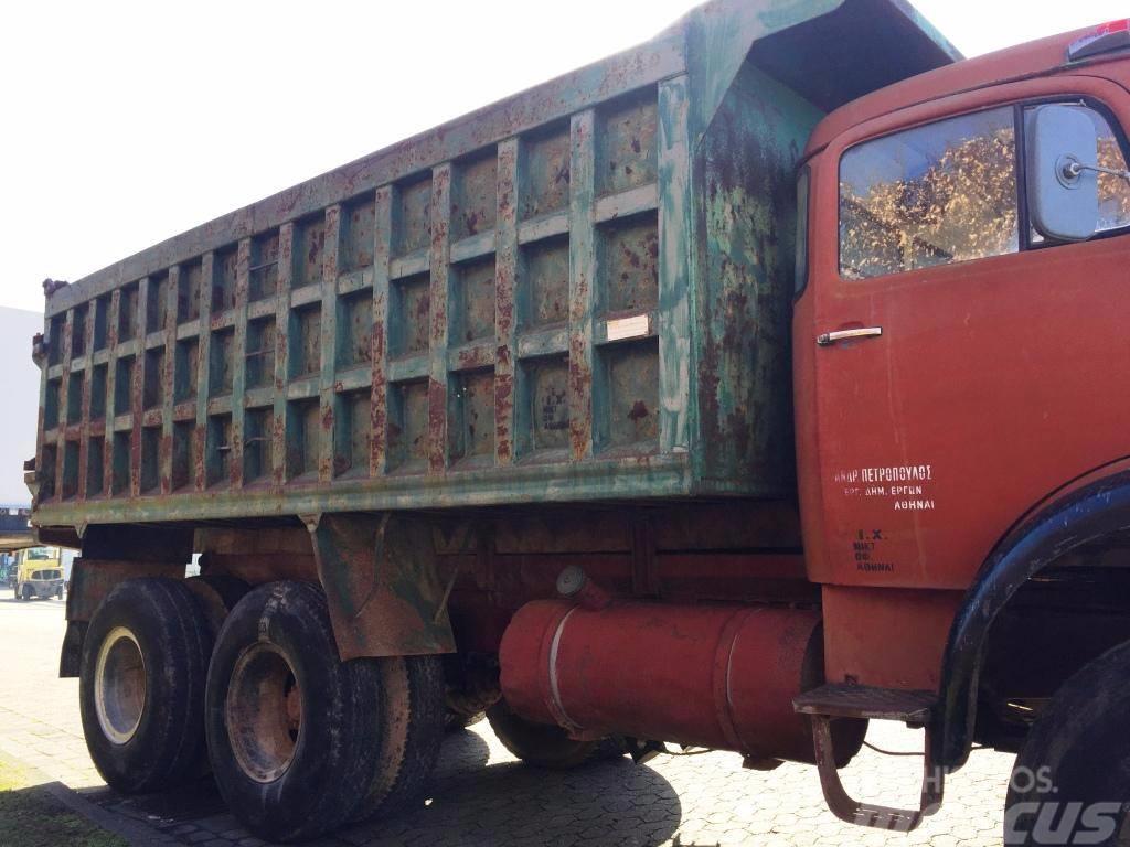 Used mercedes benz lak 2624 6x6 dump trucks year 1976 for Mercedes benz dump truck