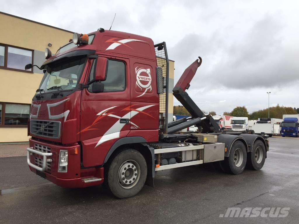 Volvo FH500 6x4+FULL STEEL