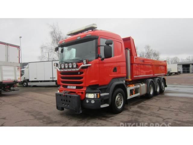 Scania -r-serie, Sweden, 2015- dump trucks for sale - Mascus