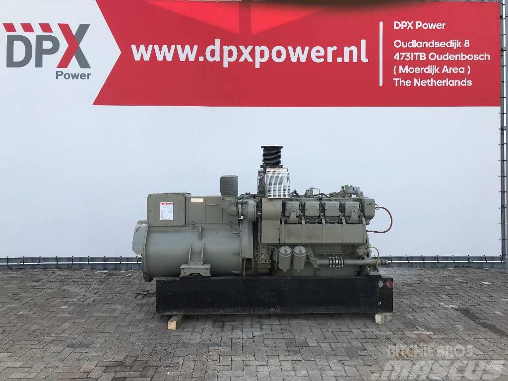MTU 8V396 - 600 kVA Generator - DPX-11550