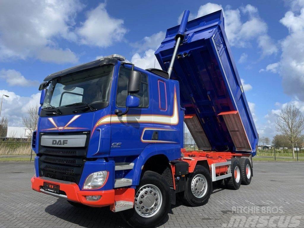 DAF CF510 8X4 KIPPER FULL STEEL EURO 6 MULDEN