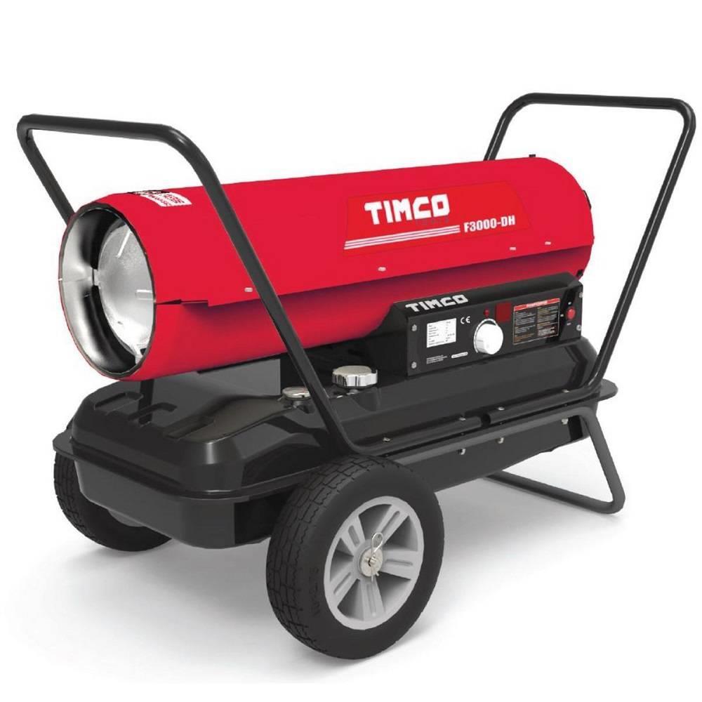 Timco 32 kW hallilämmitin/lämpöpuhallin (Q08Q07)