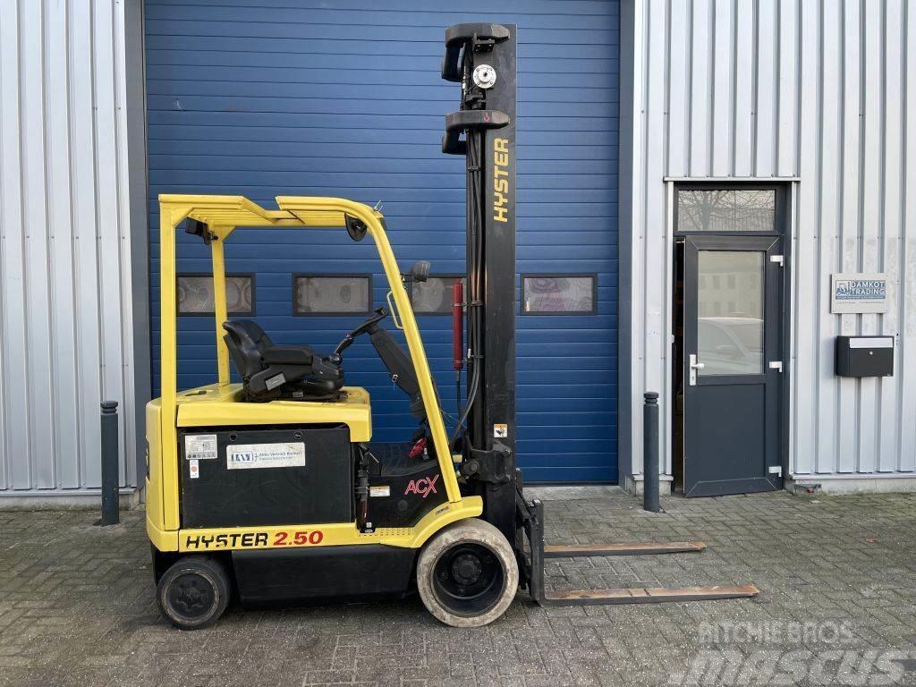 Hyster 2,5 ton elektrische heftruck GEKEURD