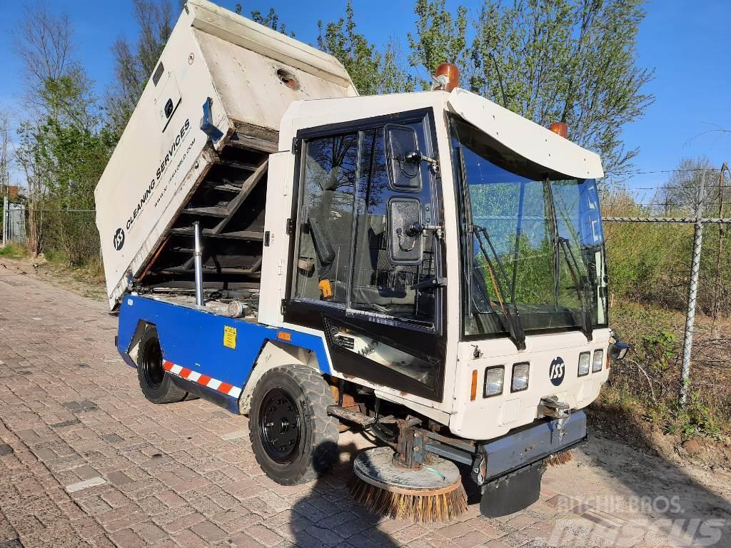 Hofmans HMF416 Tennant veegmachine sweeper bezemwagen