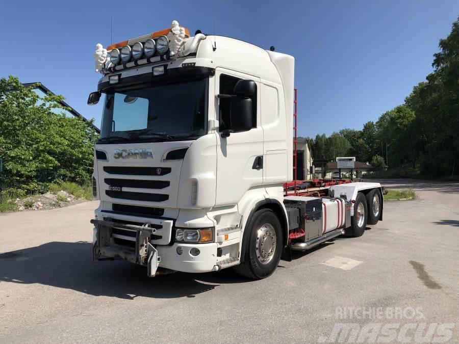 Scania R560LB6X2*4HNB