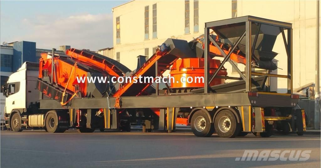 Constmach V-90 MOBILE SAND MAKING PLANT