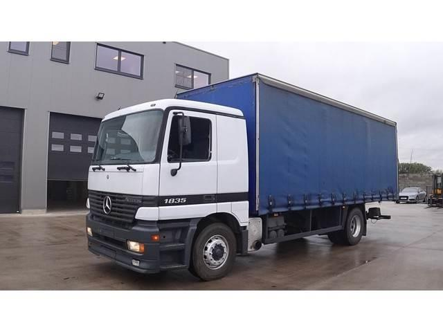 Mercedes-Benz Actros 1835 (MANUAL GEARBOX / BOITE MANUELLE / PER