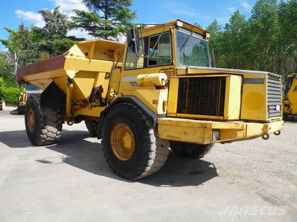 Volvo A25b Articulated Dump Truck Adt Year Of