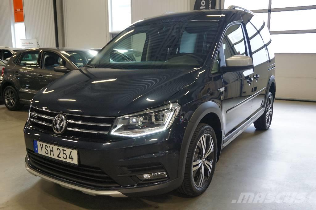 used volkswagen caddy alltrack tdi 150 hk dsg 4 motion panel vans year 2018 price 33 015 for. Black Bedroom Furniture Sets. Home Design Ideas