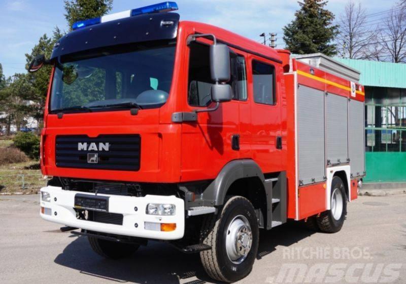 MAN 13.240 4x4 THT FIRE TRUCK FEUERWEHR