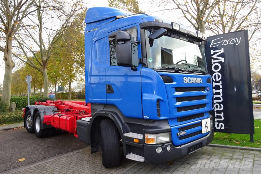 Scania R480 6x2*4 Hooklift