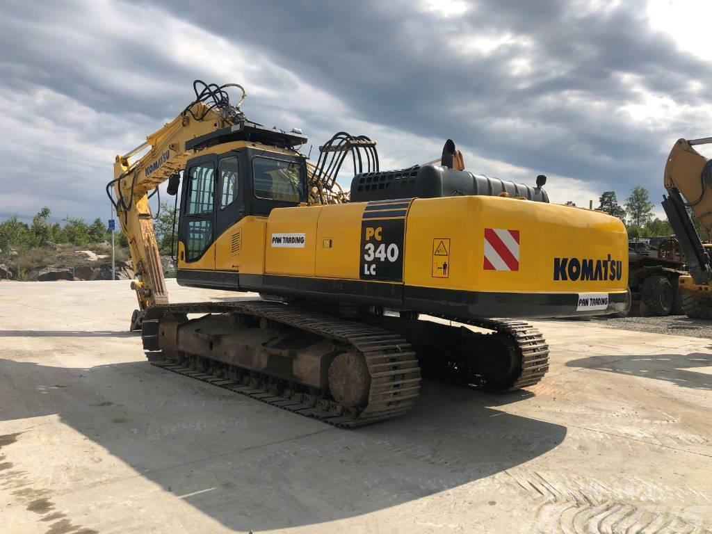 Komatsu PC340LC-7 Demolition
