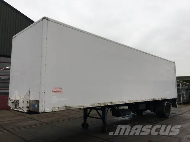 Groenewegen DRO 10 10B / CITY-TRAILER / DHOLLANDIA LIFT