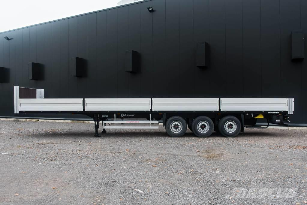 Grunwald Open sided semitrailer