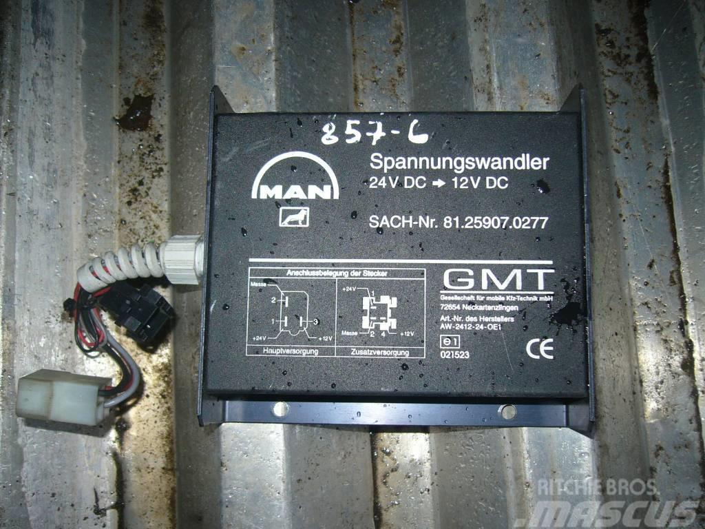 MAN TGA voltage transformer