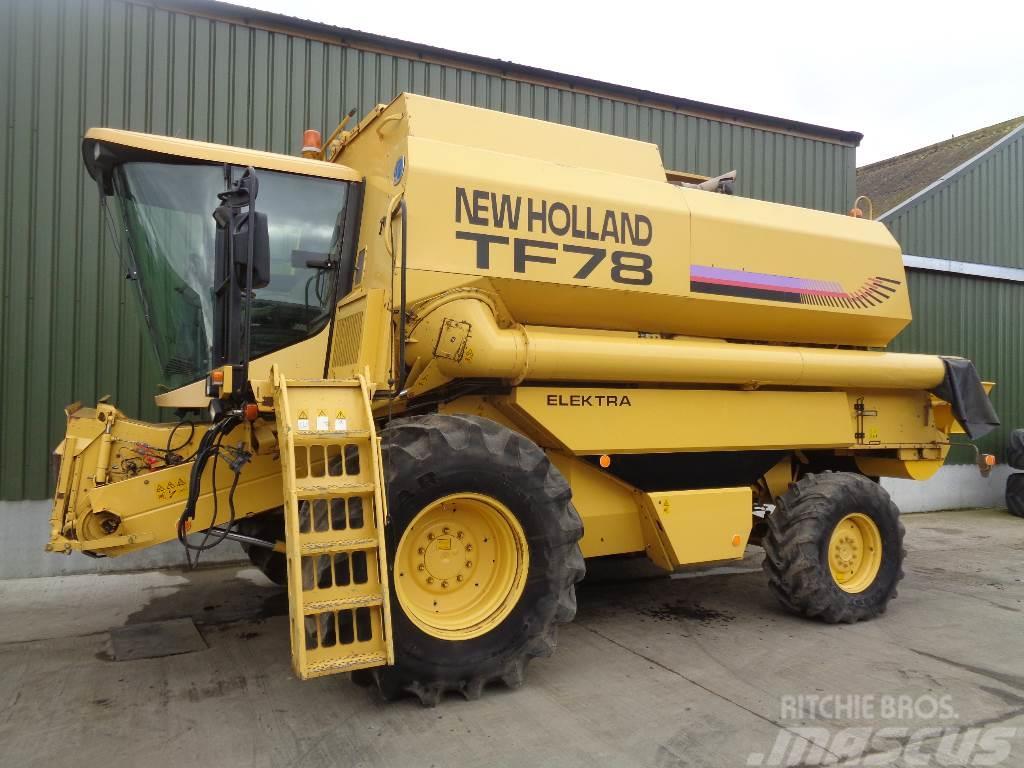 New Holland TF 78 Elektra 4wd combine