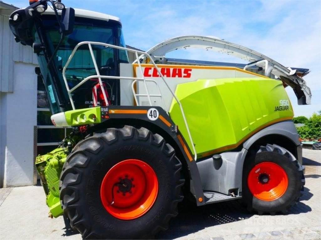 CLAAS jaguar 950 - opt. claas maisvorsatz + pu