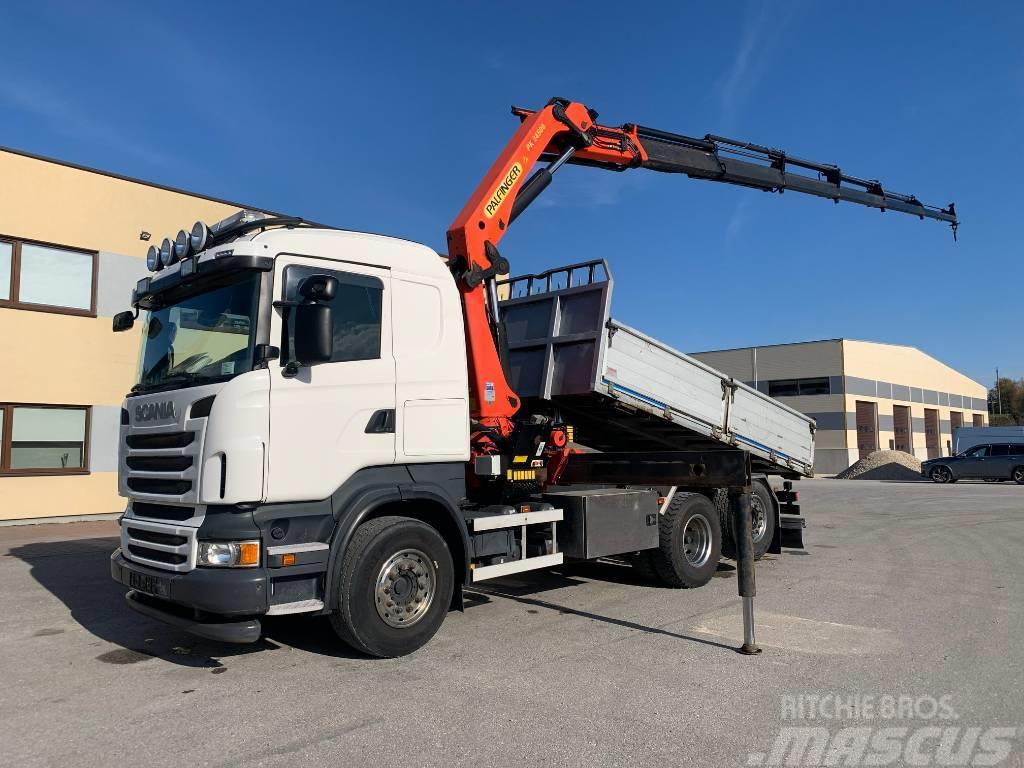 Scania R480 6x2*4+RETARDER+PALFINGER PK 24500 CRANE