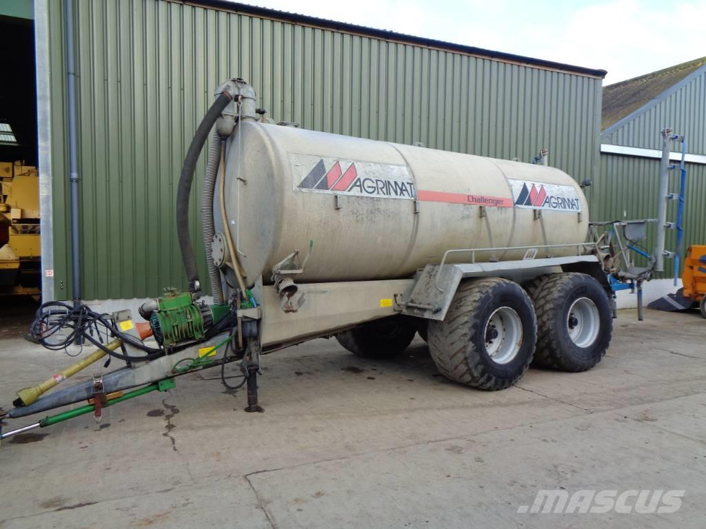 Agrimat challenger 15000 ltr tanker c/w transpread 7m bar