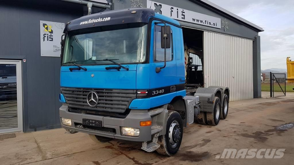 Mercedes-Benz ACTROS 3340 AS 6X6 tractor unit - SPRING