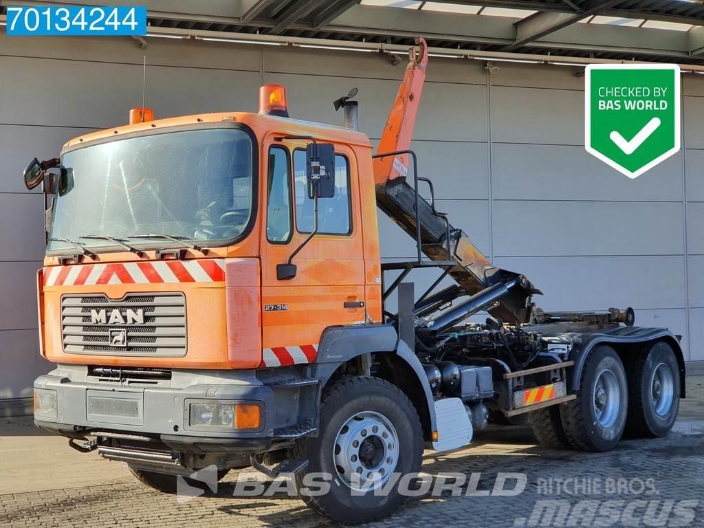 MAN 6X4 DF 27.314 Manual Big-Axle Steelsuspension Euro