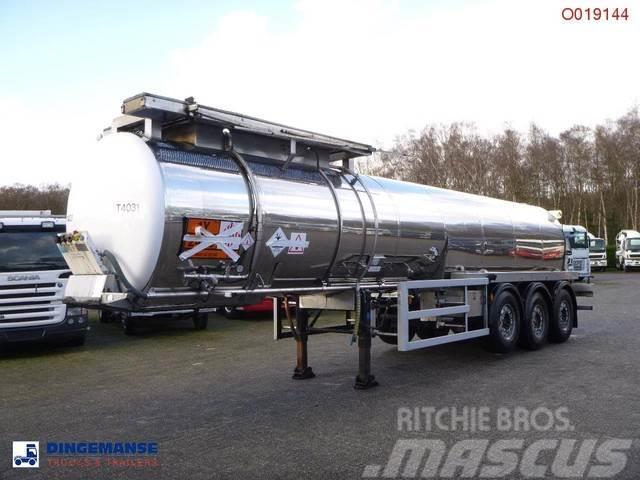 Cobo Chemical SULFUR tank inox 18 m3 / 1 comp