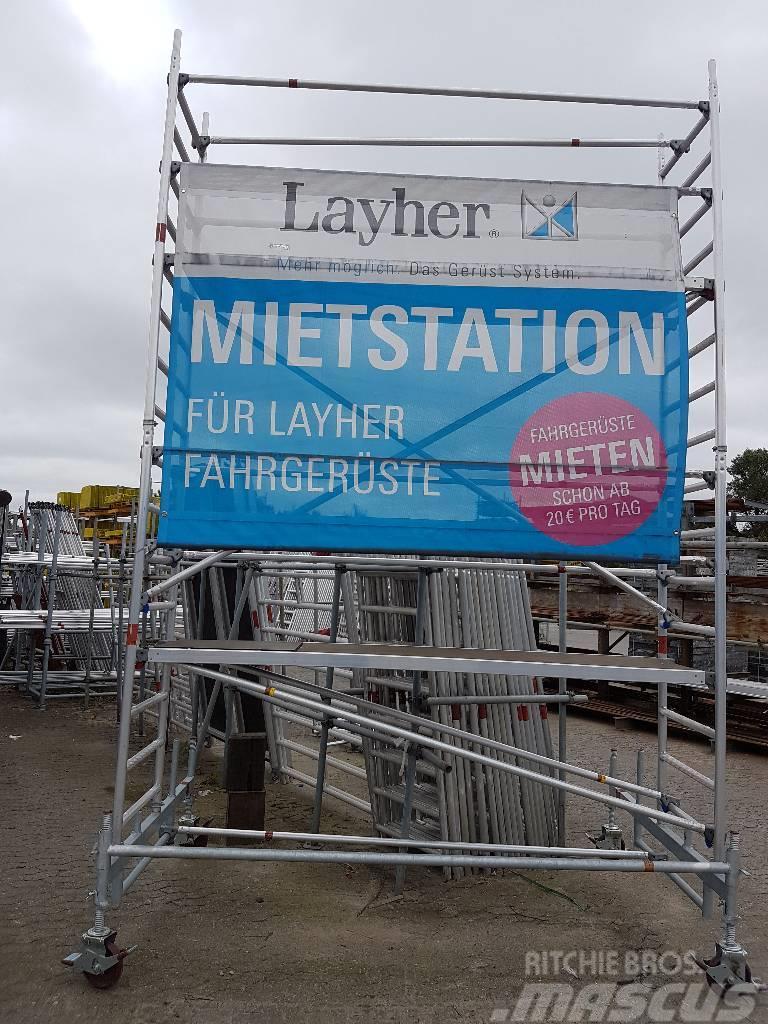 Layher Fahrgerüst / Fassadengerüst, diverse Modell