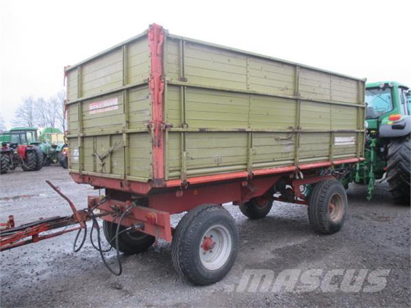 Bergmann 8 .TONNER, Other trailers