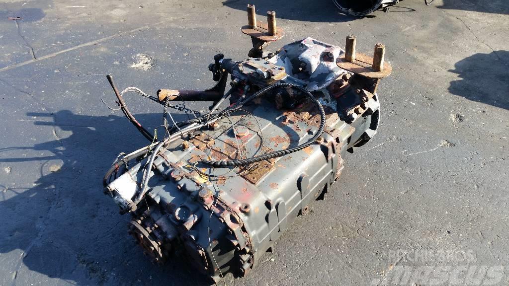 ZF Ecosplit 16S130, Växellådor
