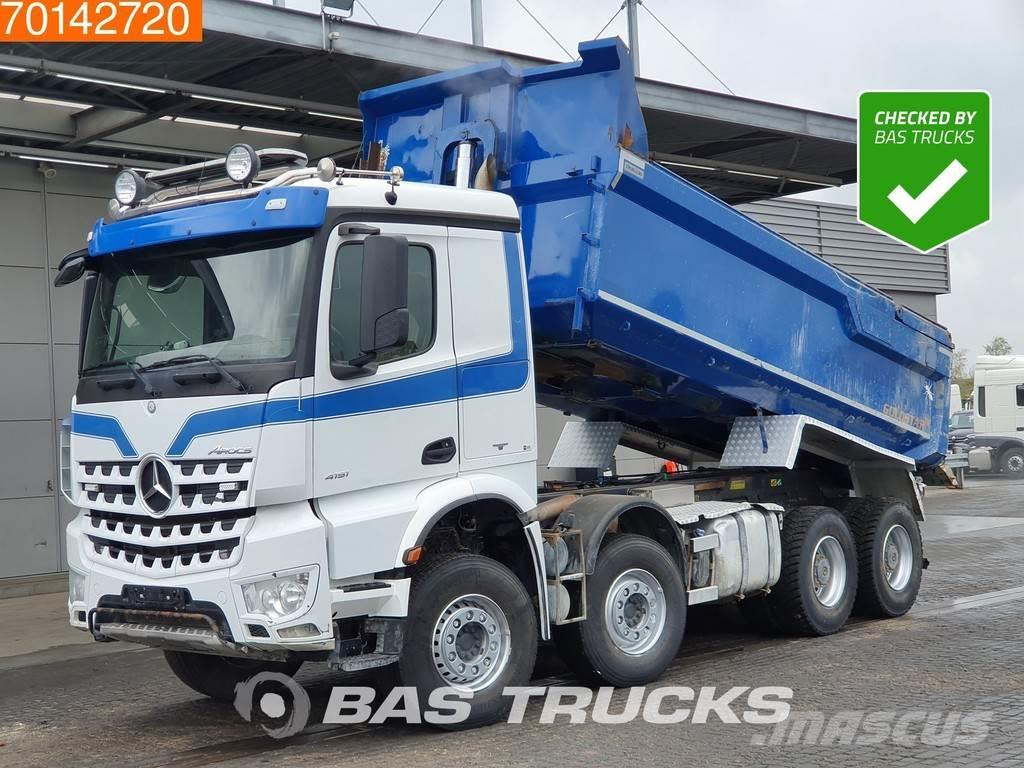 Mercedes-Benz Arocs 4151 8X4 Retarder Big Axle Steelsuspension E