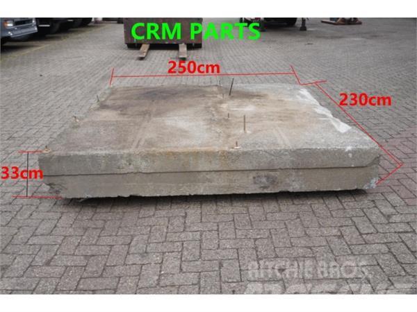 [Other] Diversen Balast blok beton Balast blok beton +/-50