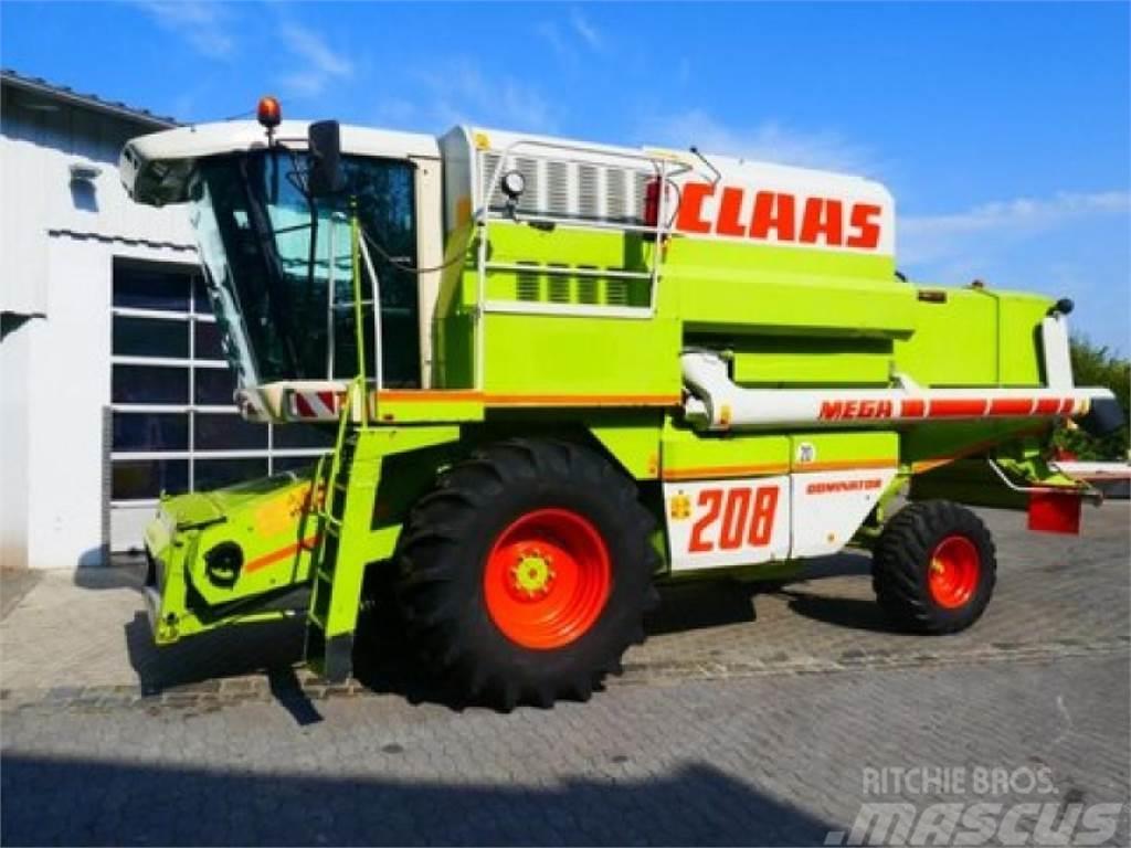 CLAAS dominator 208 mega ii inkl. c660