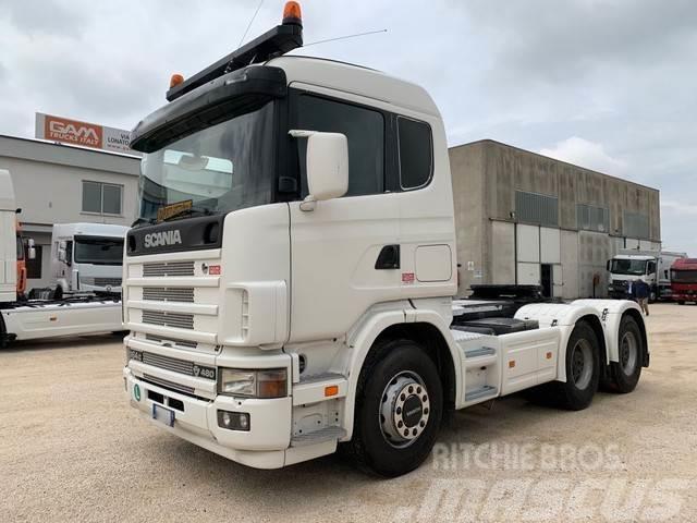 Scania 164.480 V8 180Ton Retarder