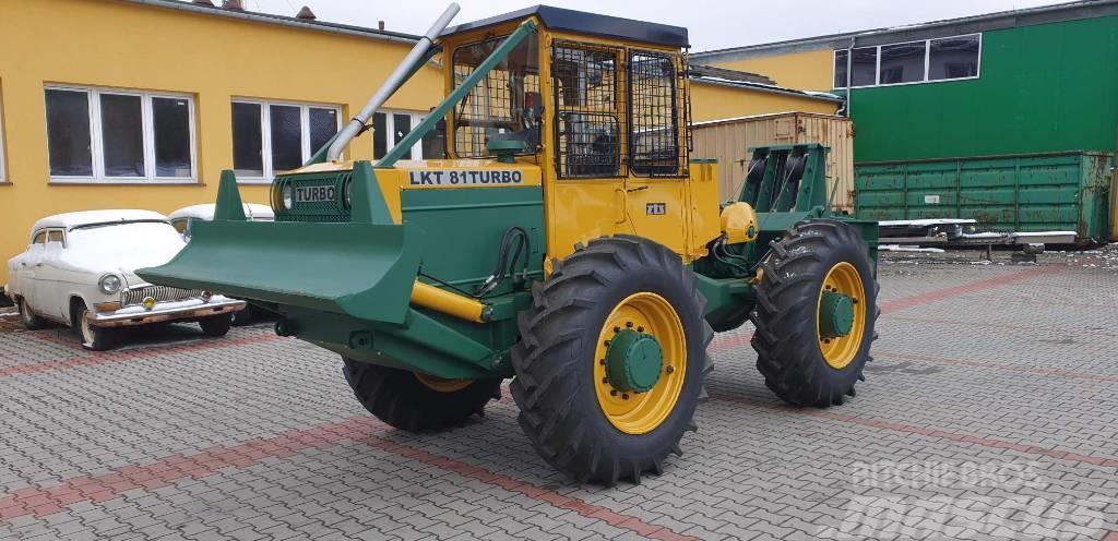 LKT 81 Turbo Skider Ciągnik leśny