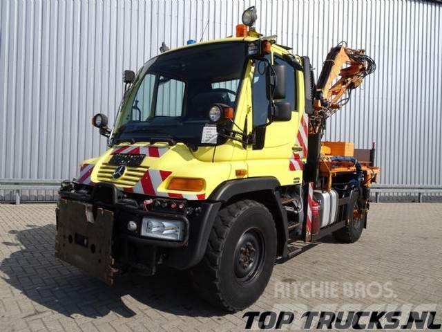 Unimog U 300 4x4 Tipper, Lawn mower
