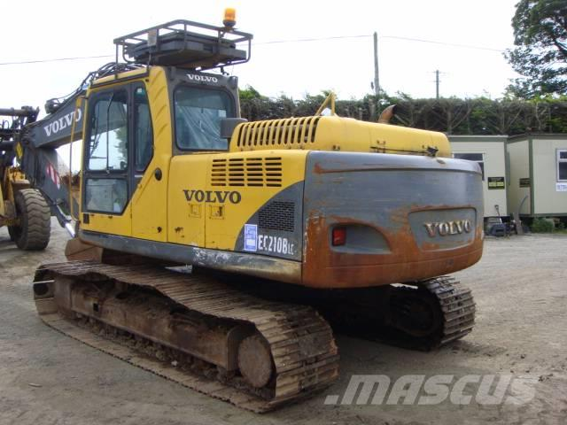 Volvo EC 210 B LC Dismantling for spares only, 2004, Bandgrävare