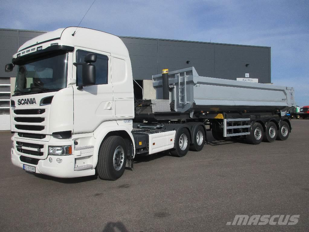 Scania R 580 - Maur-tippsemi - Leveringsklar