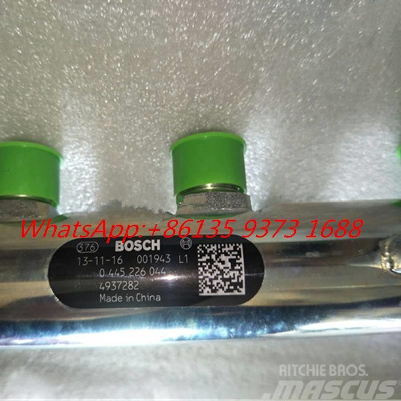 Cummins ISDe  Common Rail Fuel Tube 4937282 0445226044