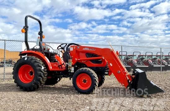 Kioti CK2610H-TL 26HP 4x4 Diesel Tractor Loader Loaded